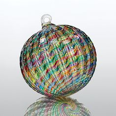 Seven Sisters by Michael Trimpol and Monique LaJeunesse: Art Glass Ornament available at www.artfulhome.com