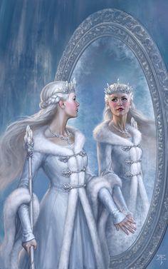 The Snow Queen, Tristan Elwell on ArtStation at https://www.artstation.com/artwork/y6ORx