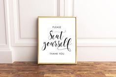 Add This Funny Bathroom Wall Decor Above Your Toilet To Add Modern  Farmhouse Style To Your Bathroom. This White Framed Bathroom Sign Is The  Perfectu2026