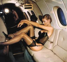 private jet lingerie. hehe.