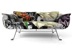 Nest sofa for Moooi by Marcel Wanders Grey Furniture, Colorful Furniture, Contemporary Furniture, Furniture Design, Outdoor Furniture, Grey Couches, White Sofas, Gray Sofa, Chair Pillow