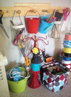 ideas for craft room storage