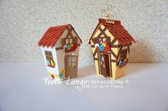 Home Sweet Home Thinlits, Alsace, German, Bavarian homes