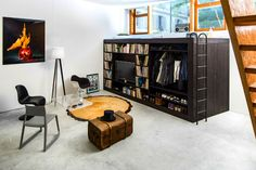 Living Cube: Multi-Functional Furnishing Provides a 'Home in a Box' Solution   Inhabitat - Sustainable Design Innovation, Eco Architecture, Green Building