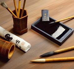 Calligraphy Pens Brushes Tools On Pinterest Chinese