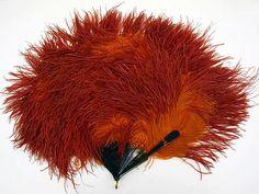 Fan Date: ca. 1923 Culture: probably American Medium: ostrich feathers