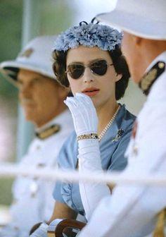 Princess Margaret in East Africa, 1956