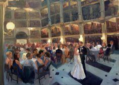 Madieros Wedding, Peabody Library, Baltimore, Maryland 2014
