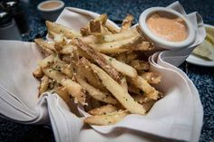 Pommes Frites at Café Orleans | 10 Foods To Put On Your Disneyland To-Do List
