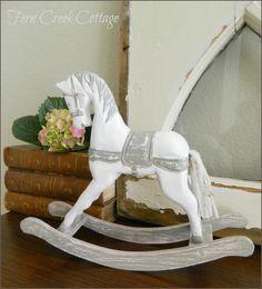 Fern Creek Cottage - rocking horse makeover