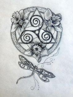 Sacred Celtic Mandala Tattoo Design - Sacred Celtic Mandala Tattoo Design – Tania Marie Informations About Sacred Celtic Mandala Tattoo - Mandala Tattoo Design, Mandala Arm Tattoo, Dragonfly Tattoo, Tattoo Designs, Tattoo Ideas, Colorful Mandala Tattoo, Design Tattoos, Hand Tattoo, 1 Tattoo