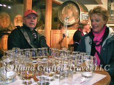 Travel Picture: Day 336. Bottoms up! Time for a whisky tasting at Aberlour Distillery in Scotland's Speyside region.