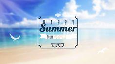 Template pub vidéo pour l'été