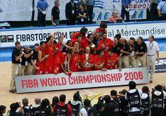 Selección de baloncesto de España. Mundial 2006