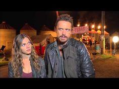 "Revolution: Tracy Spiridakos ""Charlie"" & David Lyons ""Monroe"" Happy Endings Episode Interview - YouTube"