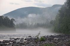 Cascapedia River, Gaspe, Quebec, Canada