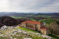 Sanctuary of Virgen de Oro, in Basque Country Santuario de la Virgen de Oro. Patrona de Zuia Foto Mikel Martinez de Osaba #Euskadi #Basquecountry #Paysbasque #Paisvasco #Alava