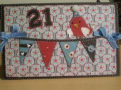 cricut - using Birthday Bash cartridge