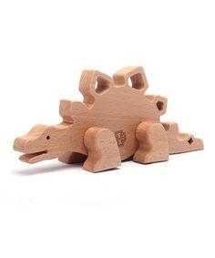 Stegosaurus Block Set by Manhattan Toy #zulily #zulilyfinds