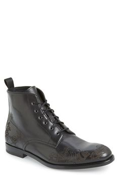 Alexander McQueen 'Tattoo' Boot (Men)