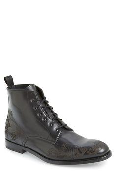 Alexander McQueen 'Tattoo' Boot (Men)
