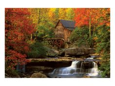 I LOVE old MILLS and in the FALL...it is even more AWESOME!