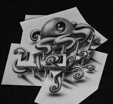 Resultado de imagen para dibujos a lapiz 3d