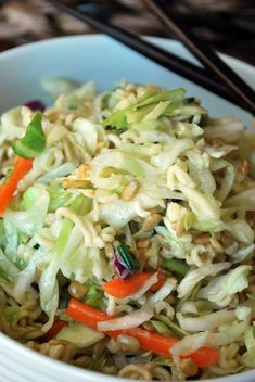 Larissa Another Day: Chinese Coleslaw