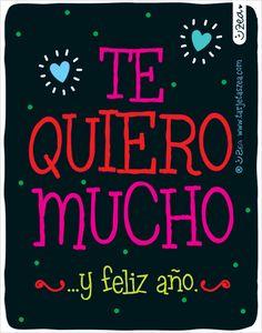Te quiero mucho y feliz año © ZEA www.tarjetaszea.com