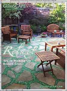 landscape glass design | ... Glass Porcelain Mulch for Sustainable Landscape Use and Design | eBay