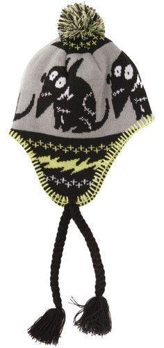 7fd25c98058 Disney FRANKENWEENIE Laplander Hat PERUVIAN BEANIE CAP Tim Burton VICTOR  Sparky Batman Shoes