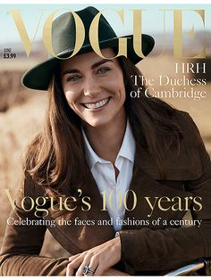 ShulmanfeaturedPrincess Kate on the cover of the magazine's 100 year anniversary issue