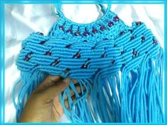 How to make macrame bag tutorial in hindi part -1 - YouTube