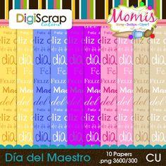 Dia del Maestro - $2.50 : DigiScrap Latino