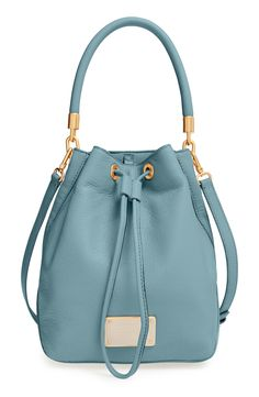 This MARC BY MARC JACOBS 'Too Hot to Handle' drawstring bucket bag is that, all too hot to handle.