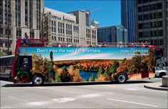 Unveiled: The Pure Michigan Fall 2014 Billboards and Bus Wraps