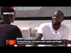 toktok9ja ..anticipate..: Paul Pogba Pushes Female ESPN Reporter Into Swimmi...