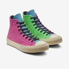 56b7bec44ee9 Converse JW Anderson Chuck Taylor Hi 1970 Felt 100% AUTHENTIC . In Hand  Size 8