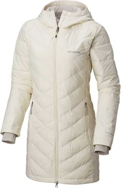 Columbia Women's Plus Heavenly Long Hooded Down Jacket Sweater Jacket, Hooded Jacket, Best Winter Jackets, Winter Coats, Plus Size Coats, Trends, Columbia Jacket, Long Jackets, Winter Sweaters