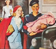 1940S American Dream   Parents everywhere were under marching orders to have children. Uncle ...