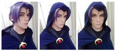 Male Raven - Teen Titans cosplay by NipahCos.