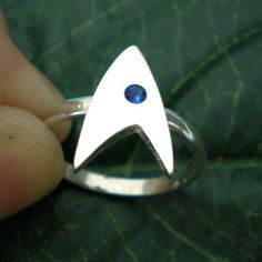 A Star Trek wedding band? Welp, it does boldly go where few brides have gone before!
