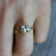 Size+5+3/4+Ready+To+Ship+14k+Yellow+Gold+and+by+onegarnetgirl,+$488.00