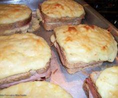 Receita de sanduíche rápido de forno - Show de Receitas