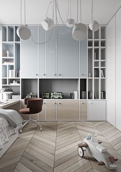 Latest Kids Room Design Ideas That Will Make Kids Happy Outstanding Home Decoration IdeasLatest Kids Room Design Ideas That Will Make Kids Happy Latest Kids Room Design Ideas That Will Ma Living Room Decor, Bedroom Decor, Room Interior, Interior Design, Cool Kids Rooms, Kids Room Design, Suites, Kid Spaces, Boy Room