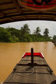 Mekong River near Saigon (Ho Chi Mihn City) Vietnam