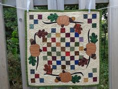 Hey, I found this really awesome Etsy listing at http://www.etsy.com/listing/163196471/fall-quilt-pumpkin-quilt-tabletopper