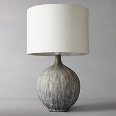 Buy Slate John Lewis & Partners Ebony Table Lamp from our Desk & Table Lamps range at John Lewis & Partners. Norfolk House, Table Desk, Table Lamps, Drum Shade, Lamp Bases, Contemporary Decor, John Lewis, Slate, Home Accessories