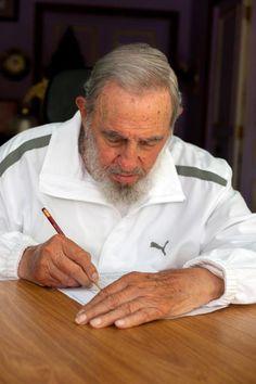 Fidel participará de Congresso do PCC como delegado (foto: EPA)