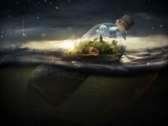 more than a message in a bottle
